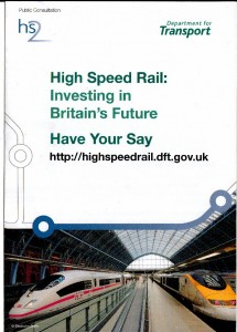 "Cover of ""Have Your Say"" leaflet"