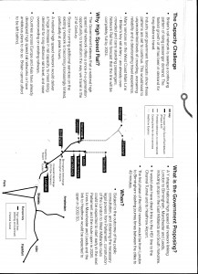 Scanned from leaflet produced by HS2 Ltd