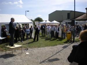 John Bercow speaking at Waddesdon roadshow