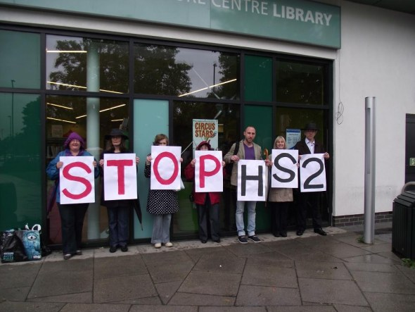 Ealing against HS2 - Northolt