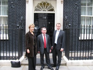 MPs outside 10 Downing Street