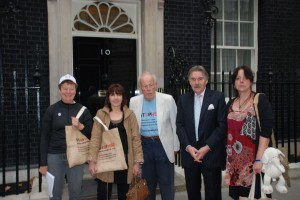 Members of Wendover Action Group in Downing Street