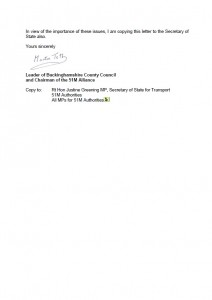 Martin Tett's letter from 51M to HS2 Ltd - page 2