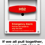Emergency Stop HS2 Alarm