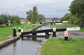 HS2 crossing area at Curdworth Locks 4-6
