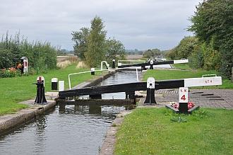 HS2 crossing area at Curdworth Locks 4-6