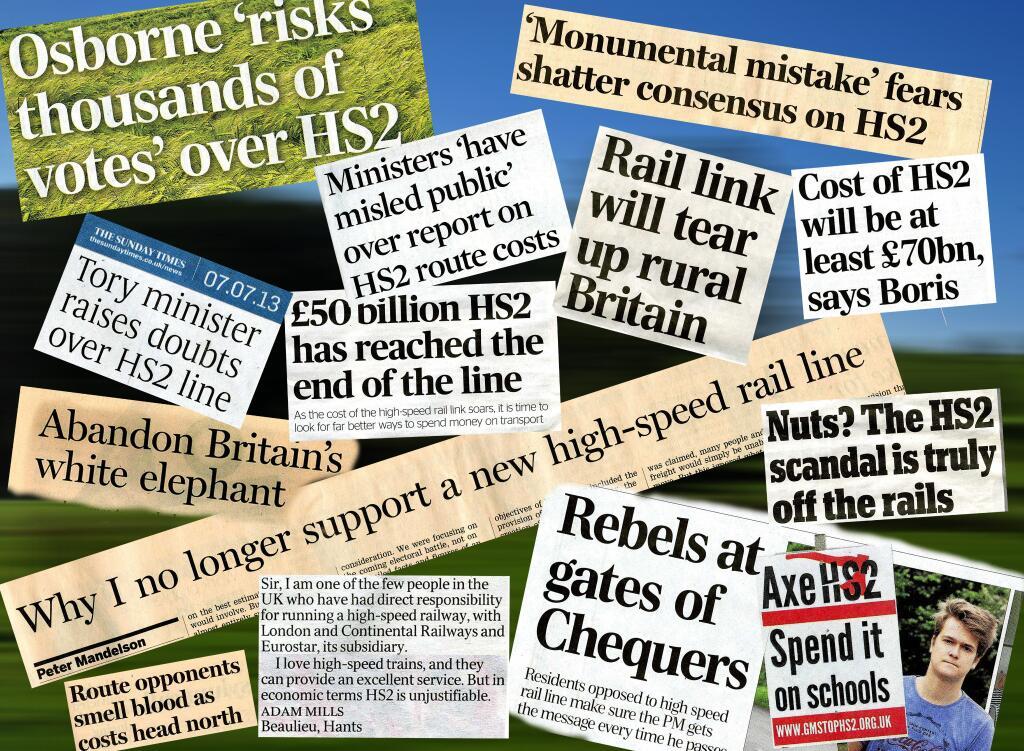 Montage of News Headlines