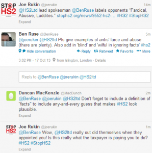 STOP PRESS - Twitter response to this article from Ben Ruse
