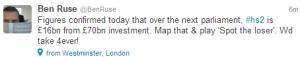 A bit of honesty from the HS2 Ltd lead spokesman!