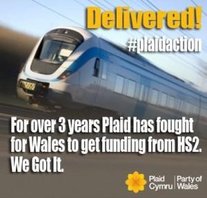 Plaid Cymru claim Barnett victory.