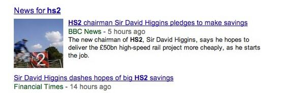 Sir David Higgins hedging his bets