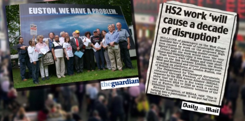 HS2 will cause a decade of disruption at Euston