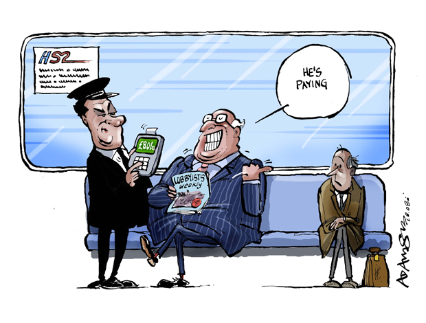 HS2 - They pocket, you pay.