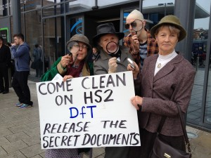 Come Clean on HS2, DfT, Release the Secret Documents