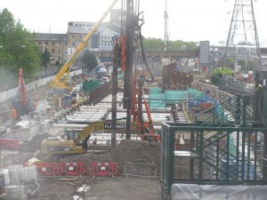 Crossrail Construction