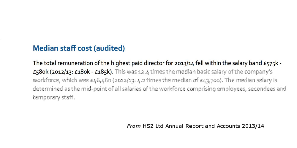 The total remuneration of the highest paid director for 2013/14 fell within the salary band £575k - £580k (2012/13: £180k - £185k).