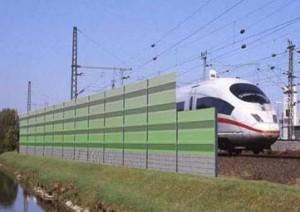 A fancy noise barrier, as recommended by Deutsche Bahn, but not Chiltern Railways, who are owned by err, Deutsche Bahn.
