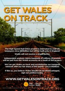 Plaid Cymru say 'Keep Wales On Track'