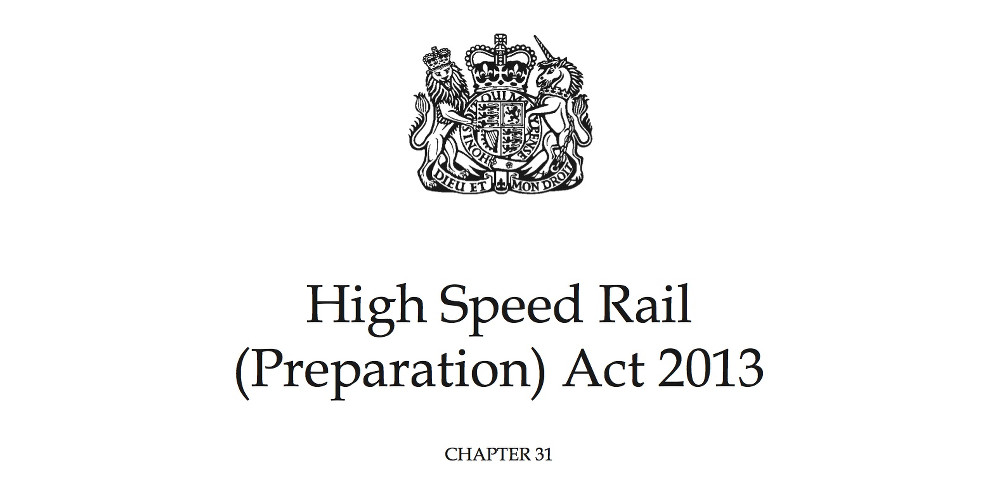 cover of High Speed Rail Preparation Act (2013)