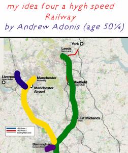 The first draft of HS2 Phase 2 by Andrew Adonis