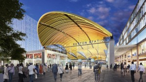 Official HS2 press picture of proposed Euston redesign