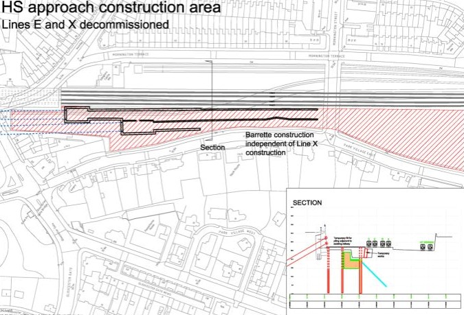 Oh yeah, HS2 Ltd intend to decommission two of the lines into Euston station, for as yet unspecified period of time.