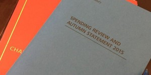 Cover of 2015 Spending Review and Autumn Statement