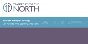 Transport for the North screen header