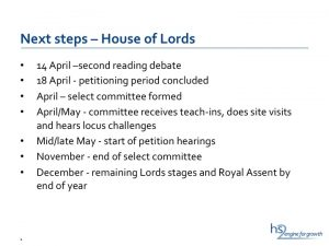 HS2 Ltd presentation: Next steps – House of Lords
