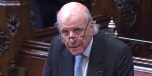 Lord Rowe-Beddoe speaking in the House of Lords during the HS2 debate 14/04/2016