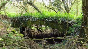 The Weston Mill Bridge. Not underground.