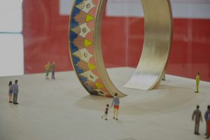 Birmingham Big Art - large ring