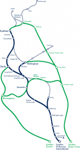 Alternative routes for East Midlands Trains