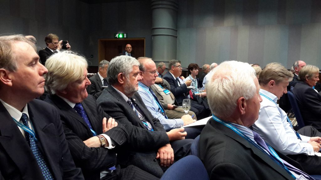 Audience at Stop HS2 fringe