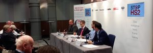Panel at Stop HS2 fringe - HS2 Its time to think again October 4th 2016 Conservative party conference #cpc16