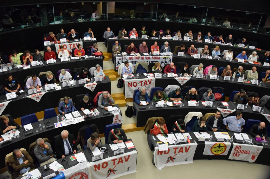 Audience at the European Parliament