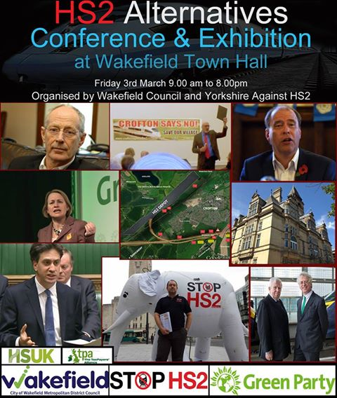 HS2 Alternatives Conference poster 3rd March 2017