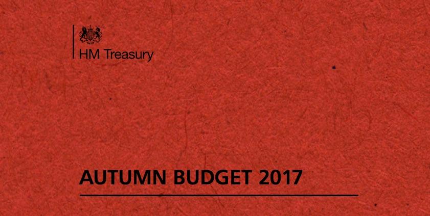 Autumn Budget 2017 image