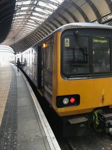 Photo of a Pacer train